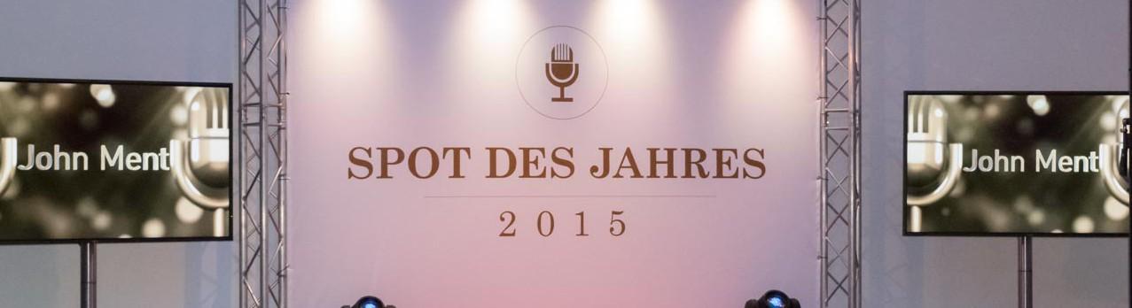 Spot Des Jahres 2015